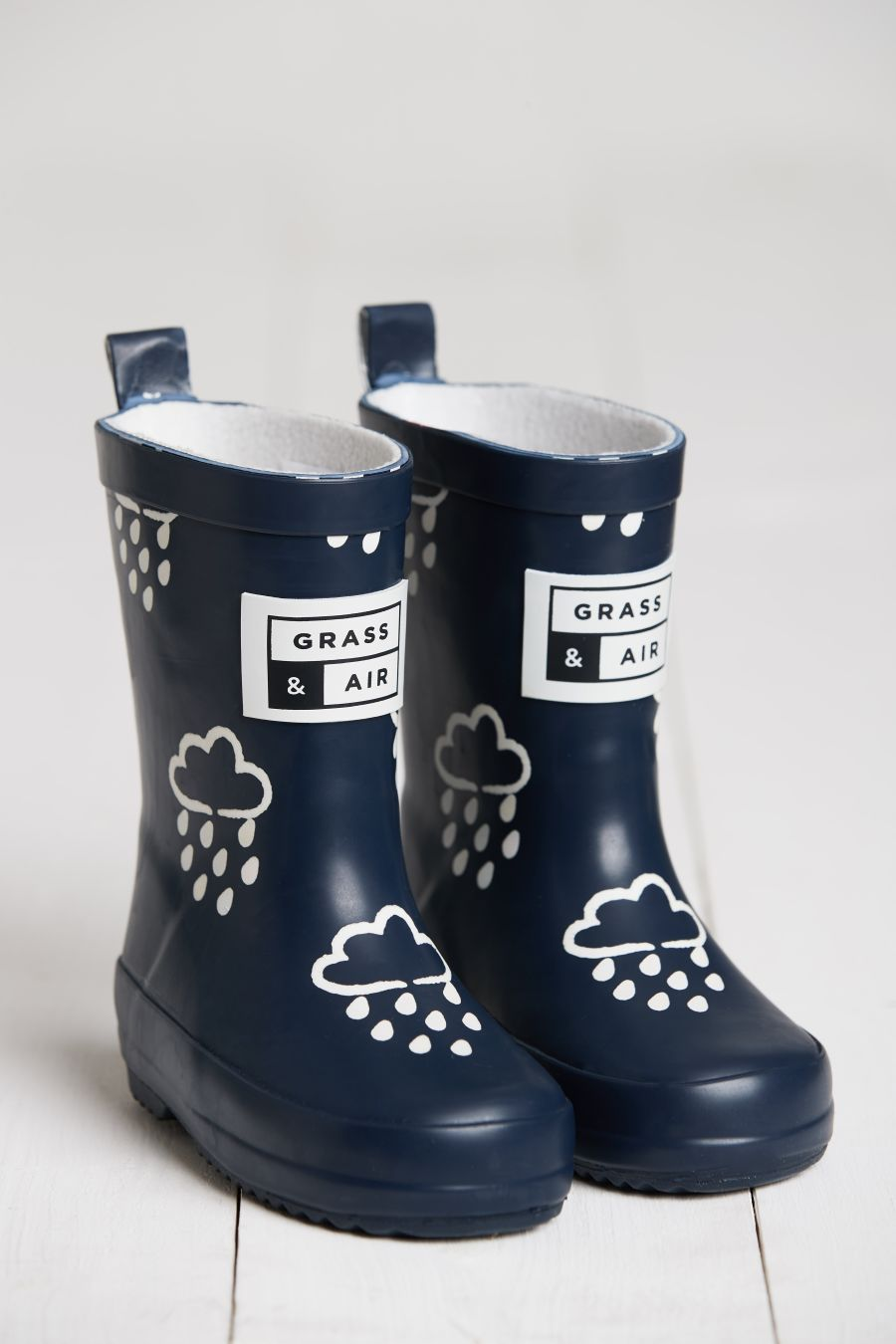 Navy Colour Changing Wellies