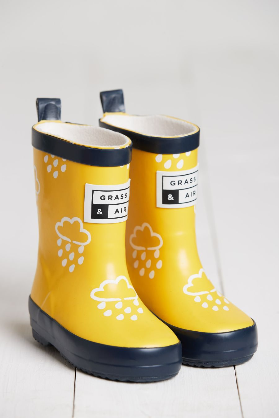 Yellow Colour Changing Wellies