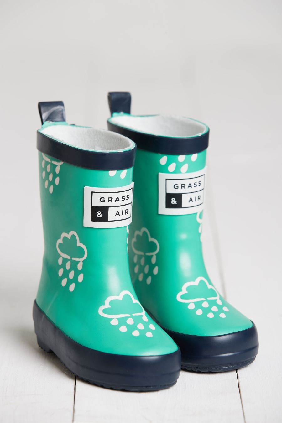 Green Colour Changing Wellies