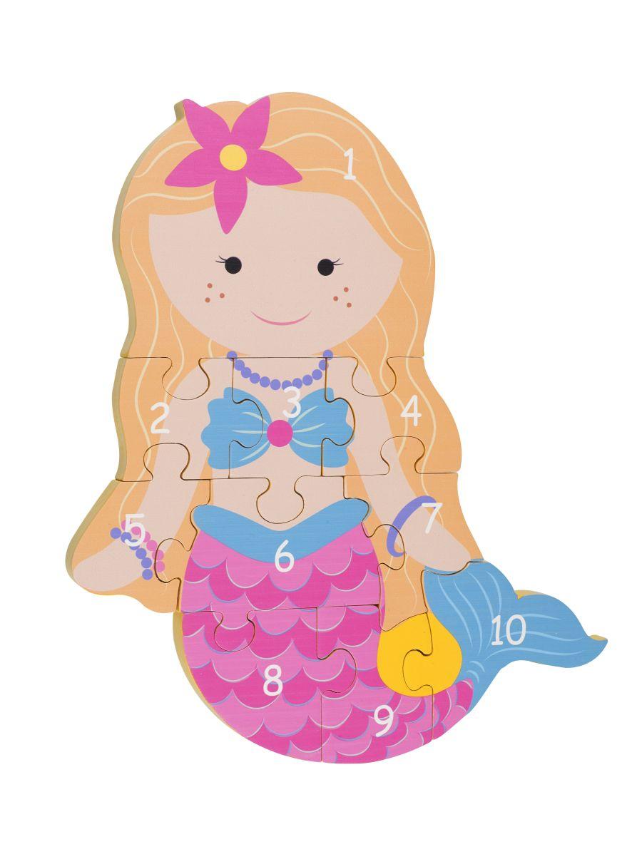 Mermaid Number Puzzle
