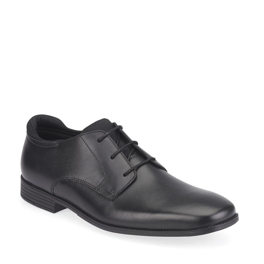 Academy Black Leather