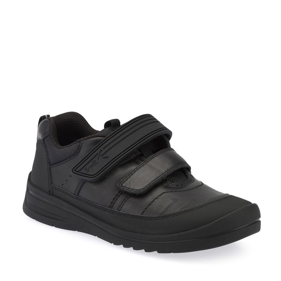Bolt Black Leather