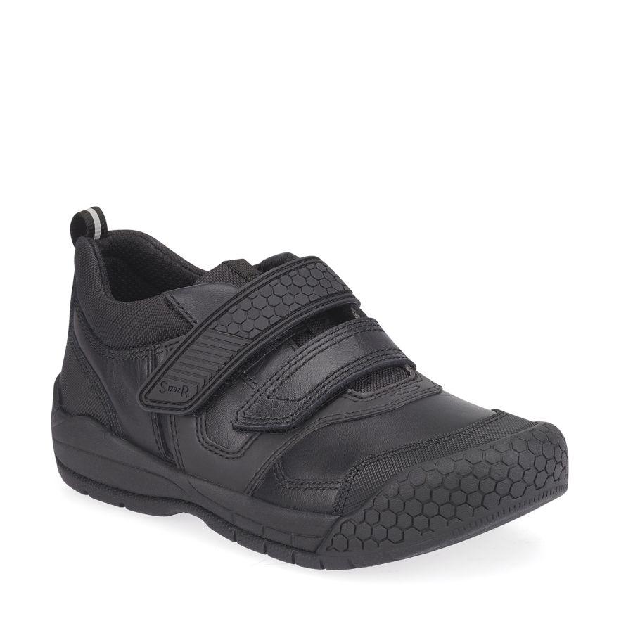 Strike Black Leather