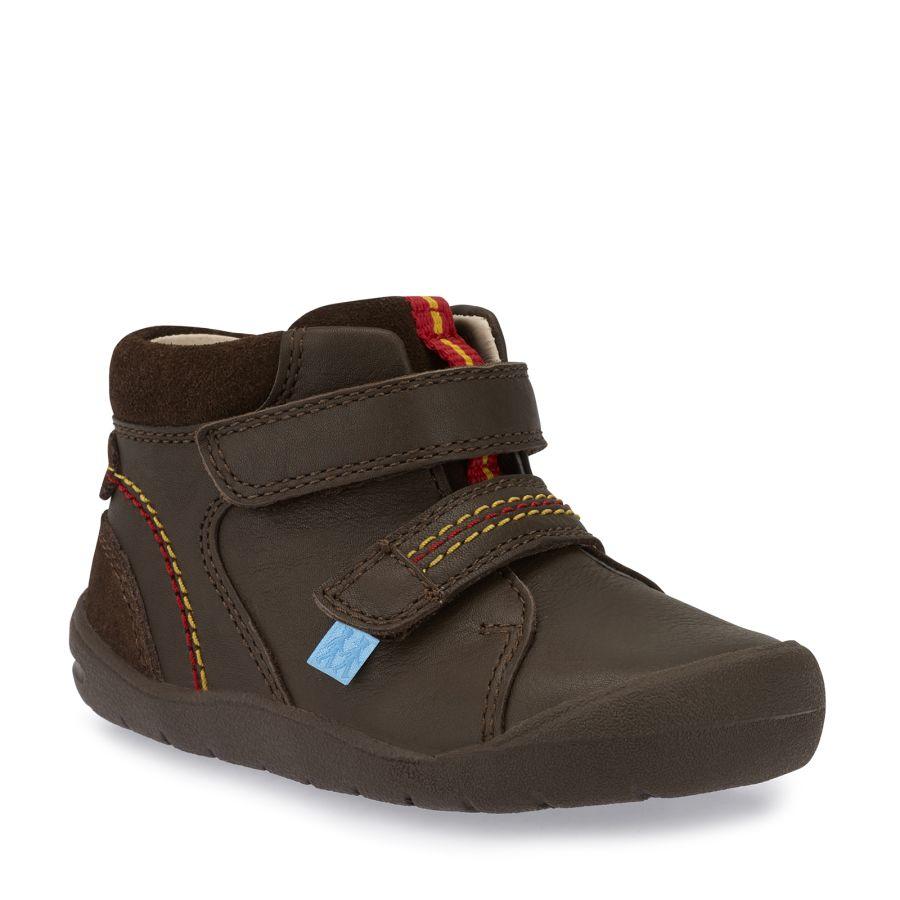 Burst Brown Boots