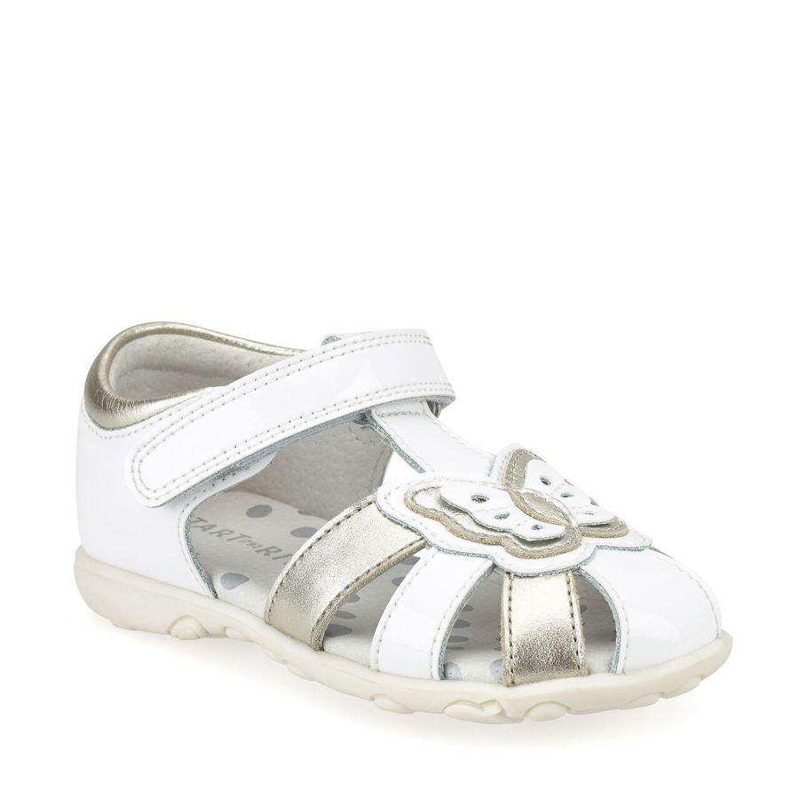Charm White Sandal