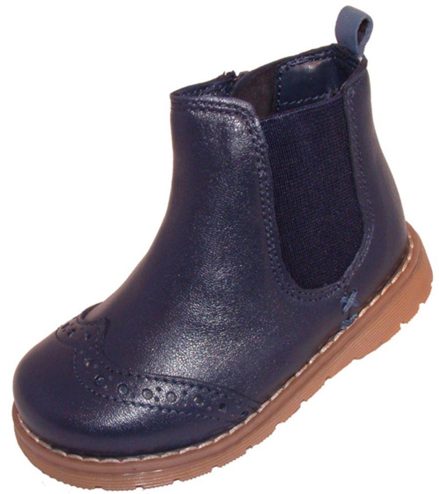 Freddie Navy Boots