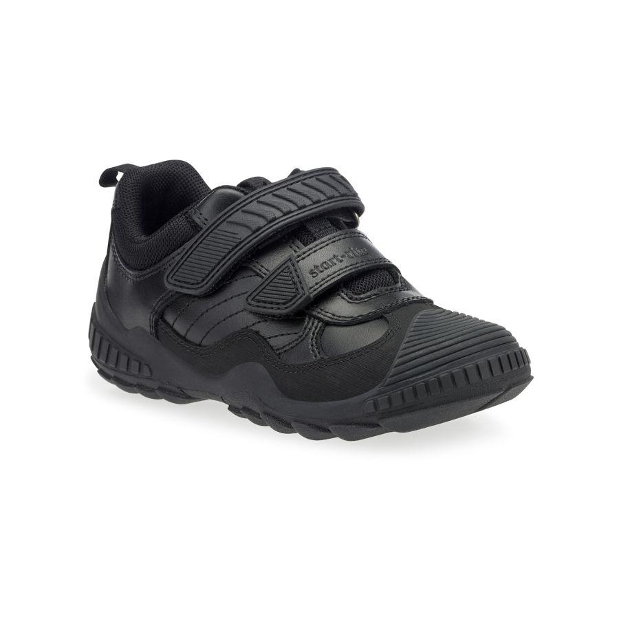 Extreme Pri Black Leather Shoe