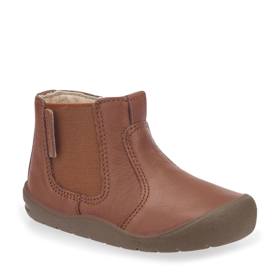 First Chelsea Tan Boots
