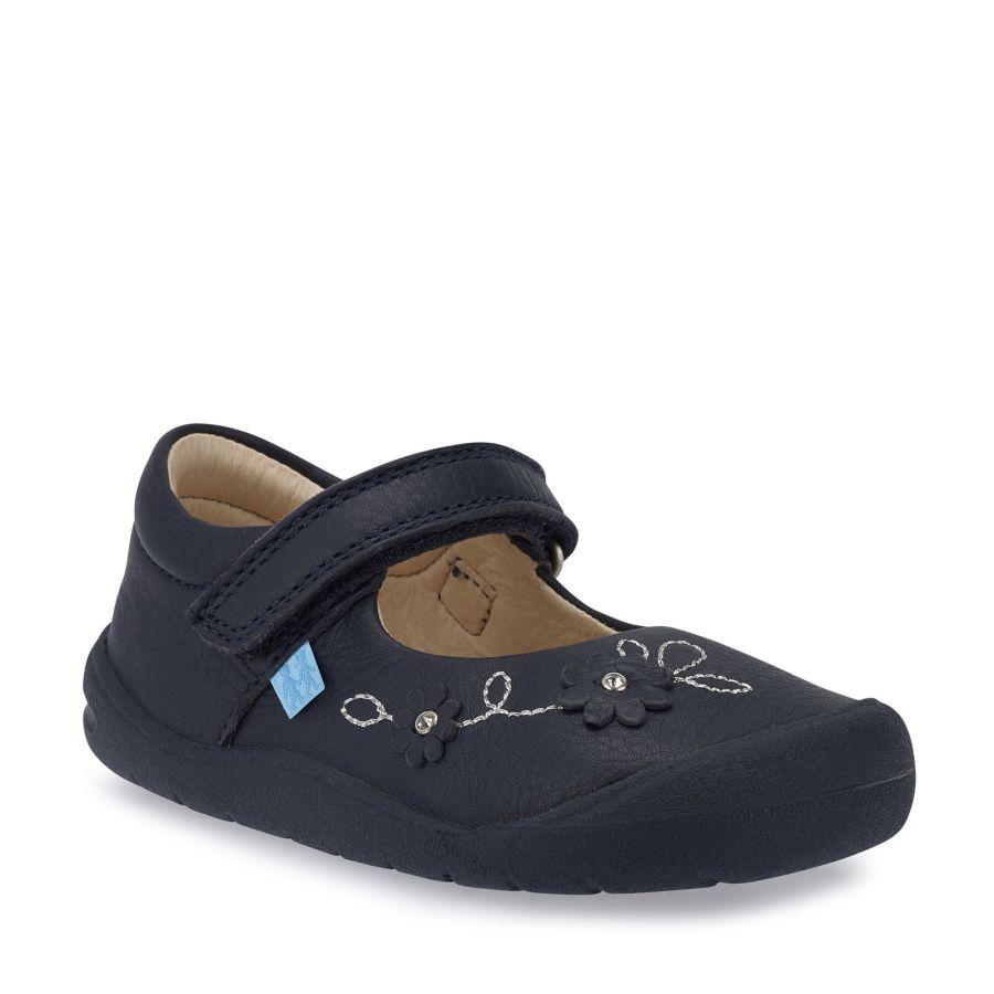 Flex Navy Leather