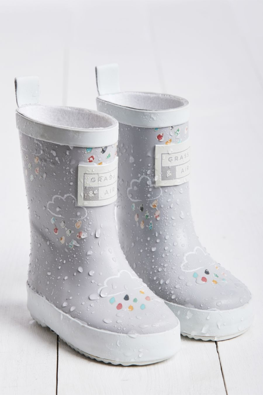 Baby Grey Wellies