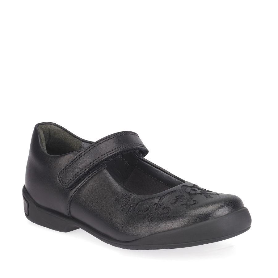 Hopscotch Black Leather