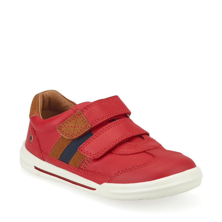 Seesaw Red Leather