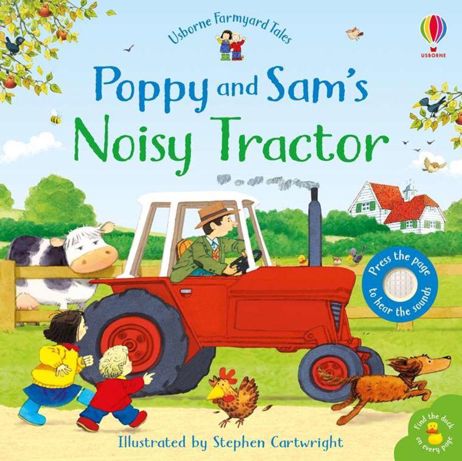 Usborne Poppy & Sam's Noisy Tractor