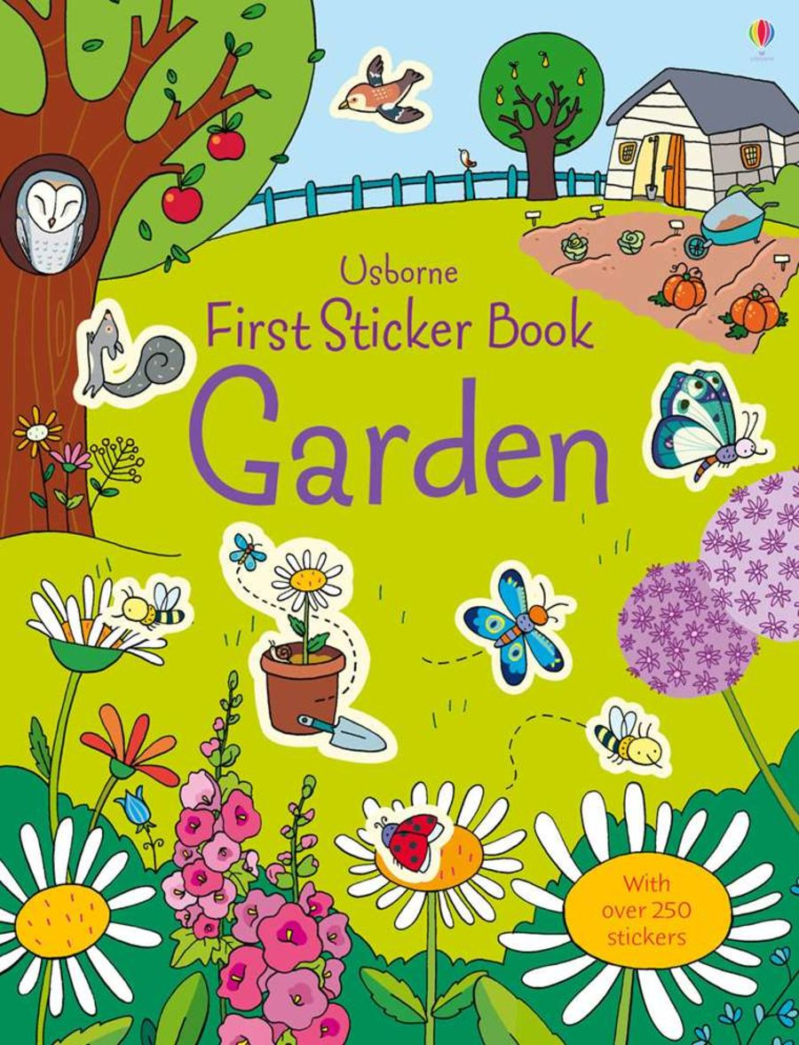Usborne First Sticker Book - Garden