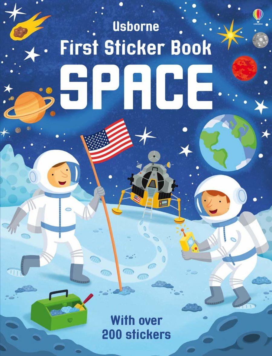 Usborne First Sticker Book - Space