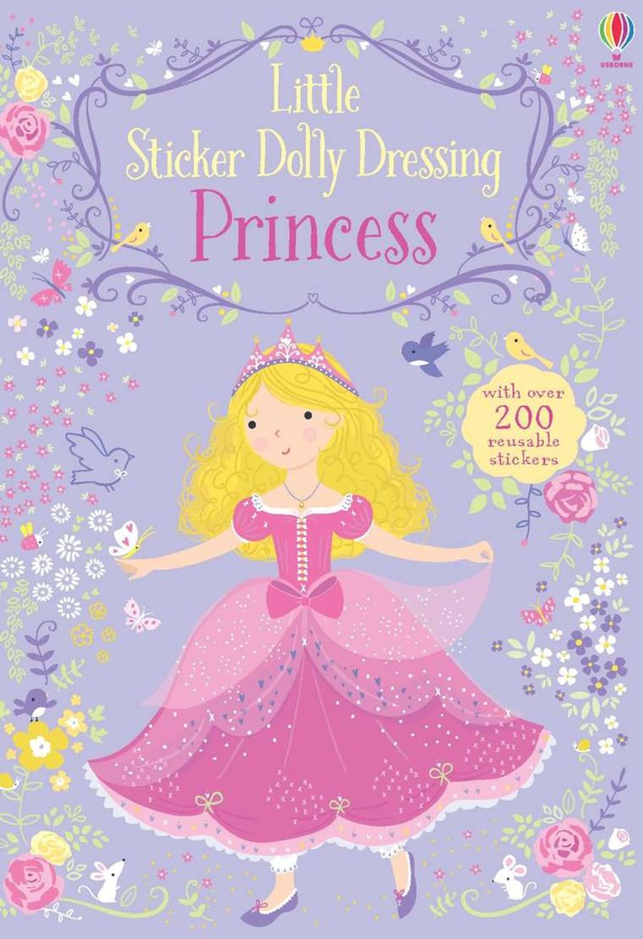 Dolly Dressing Princess Sticker Book