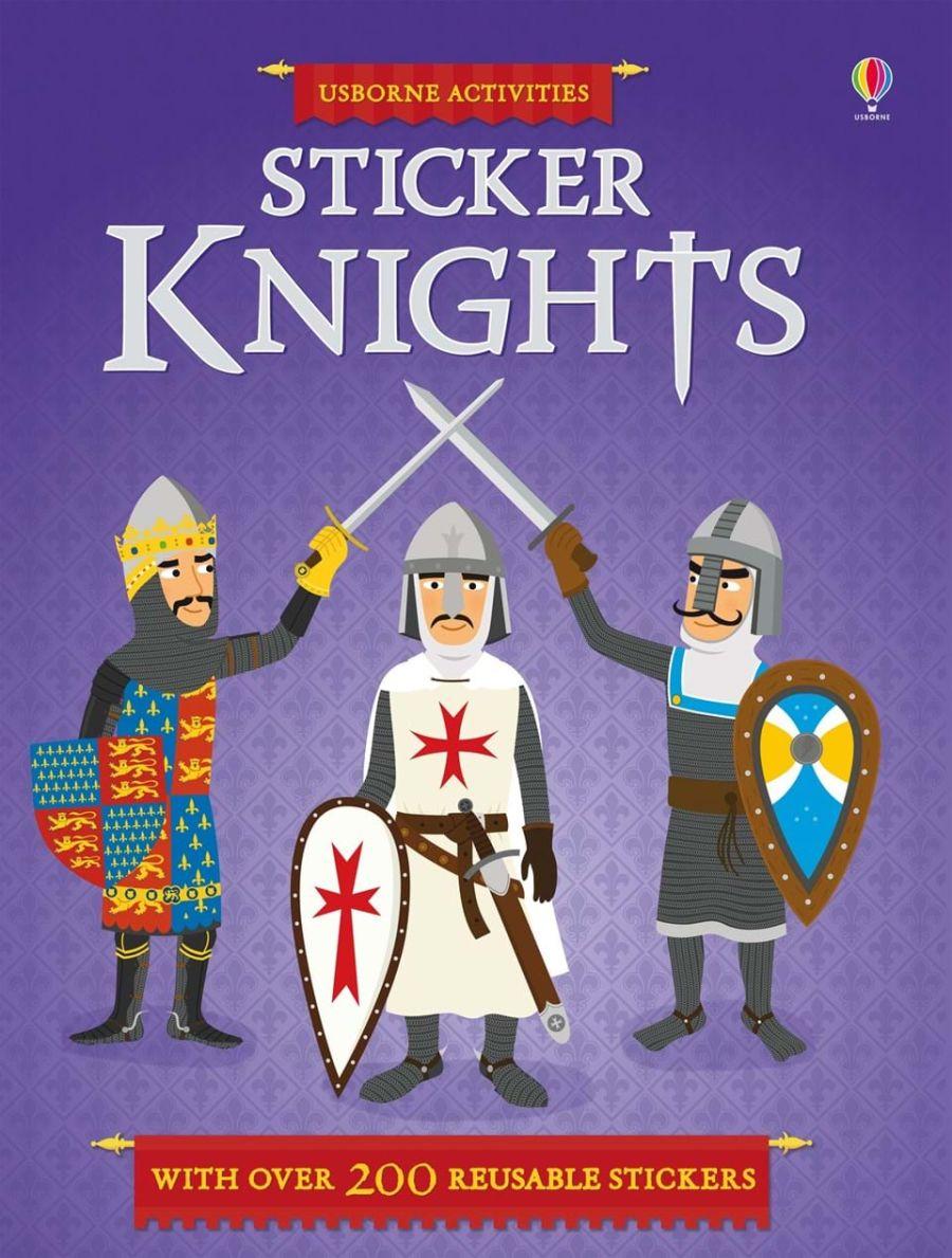 Knights Sticker Book
