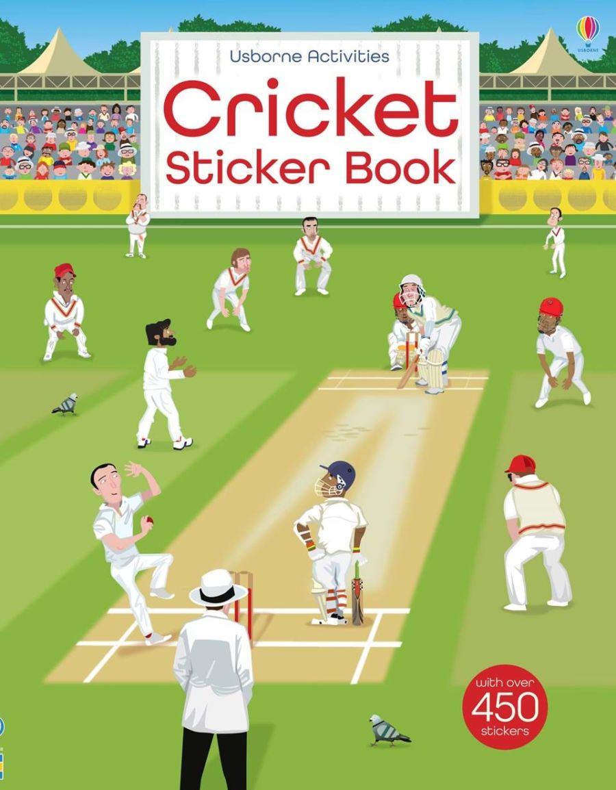 Cricket Sticker Book