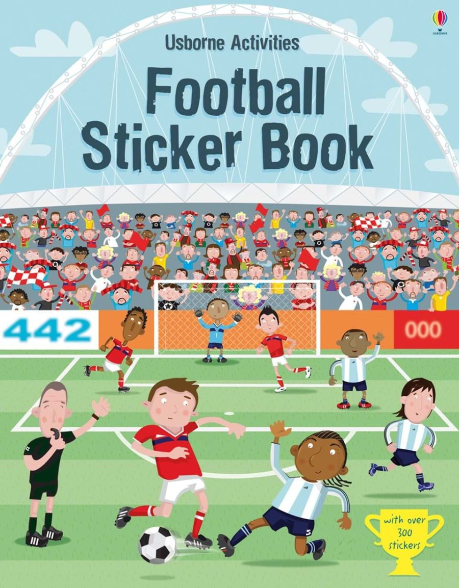 Football Sticker Book