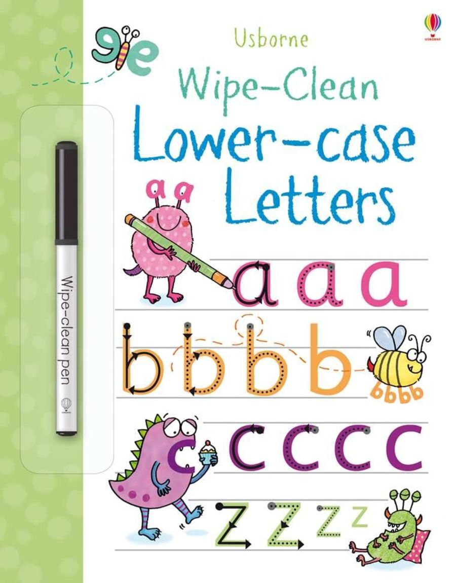 Wipe Clean Lower Case Letters Book