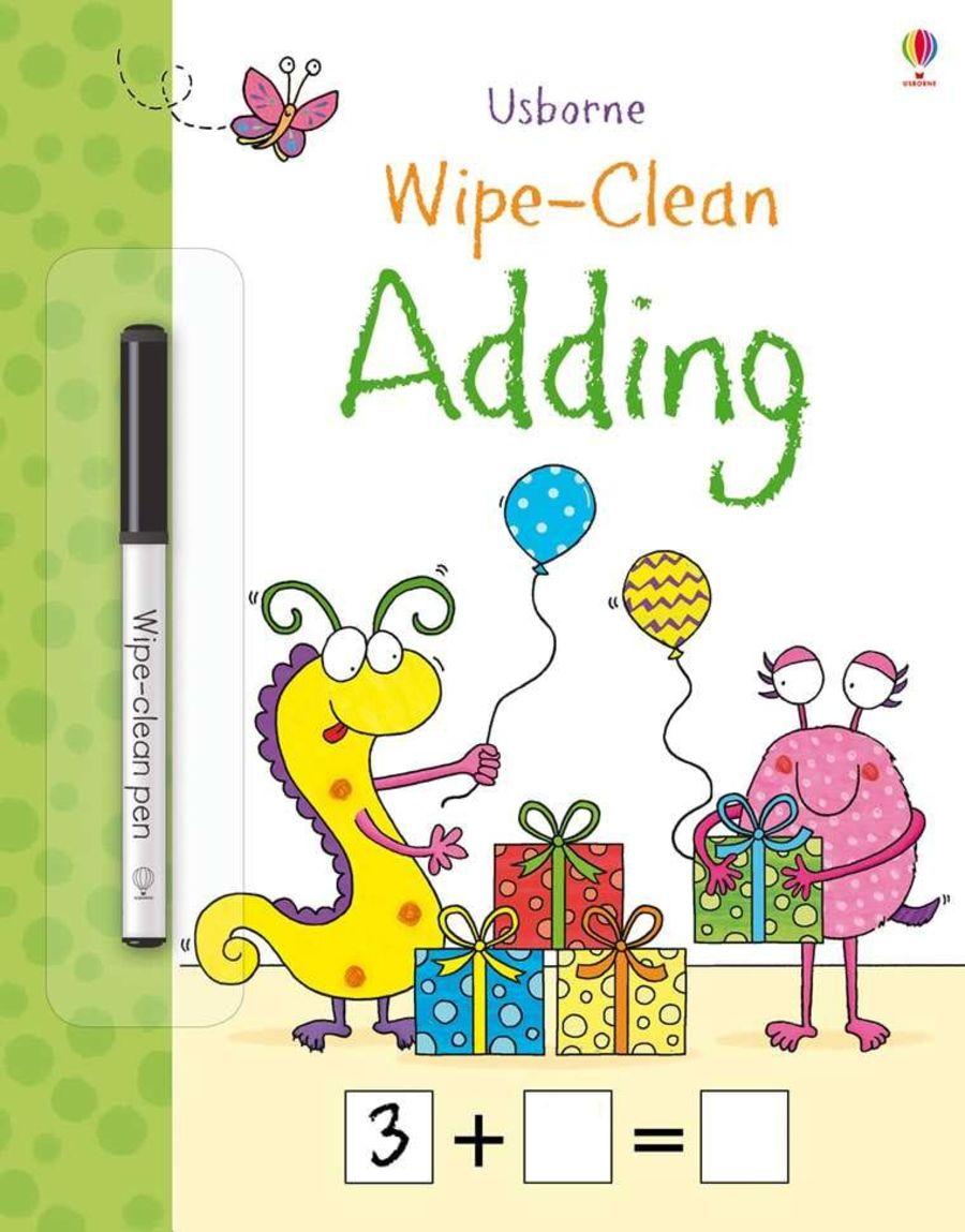 Wipe Clean Adding Book