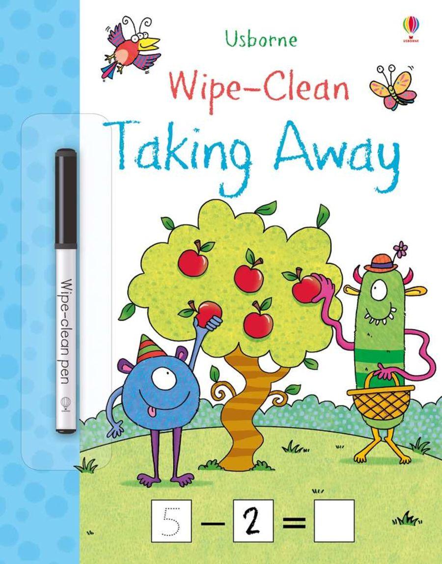 Wipe Clean Take Away Book