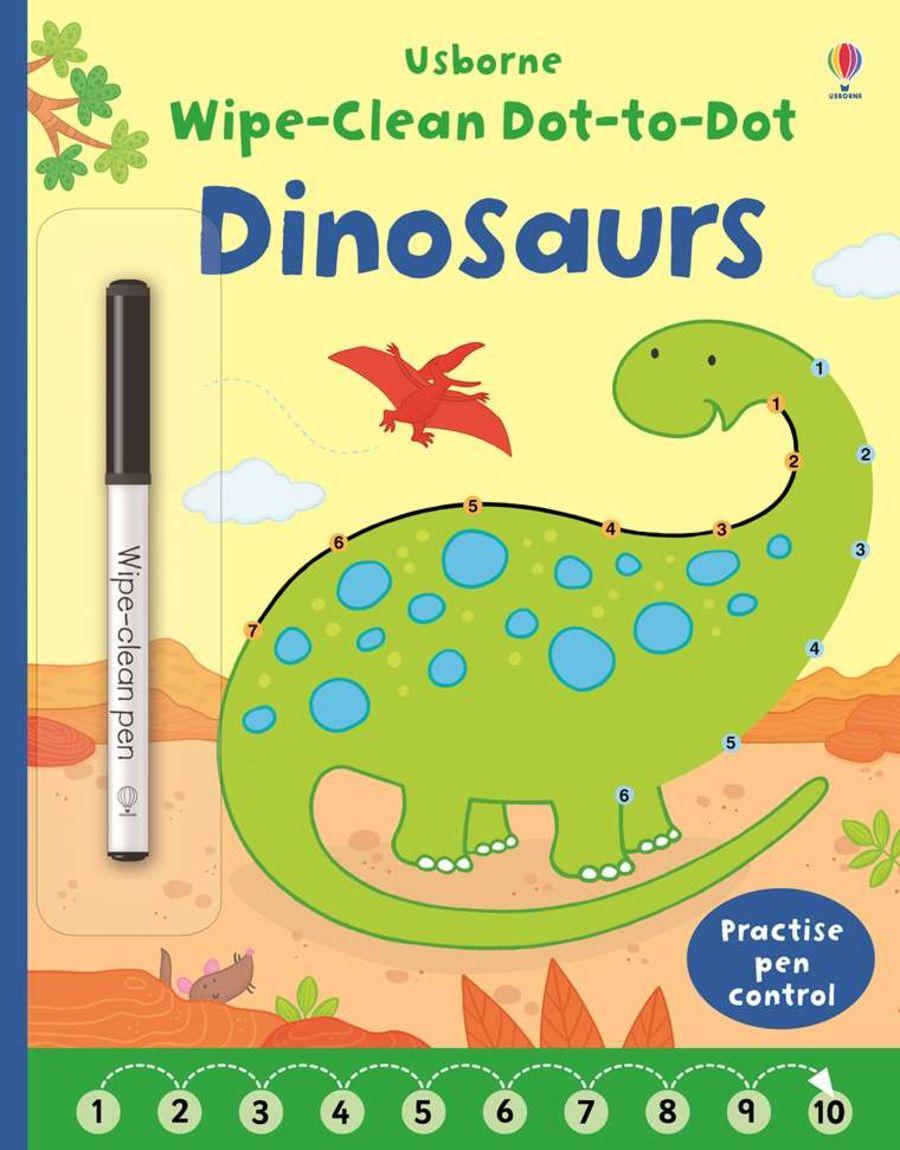 Wipe Clean Dinosaur Dot-to-Dot