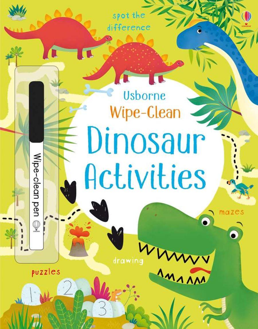 Wipe Clean Dinosaur Activities Book