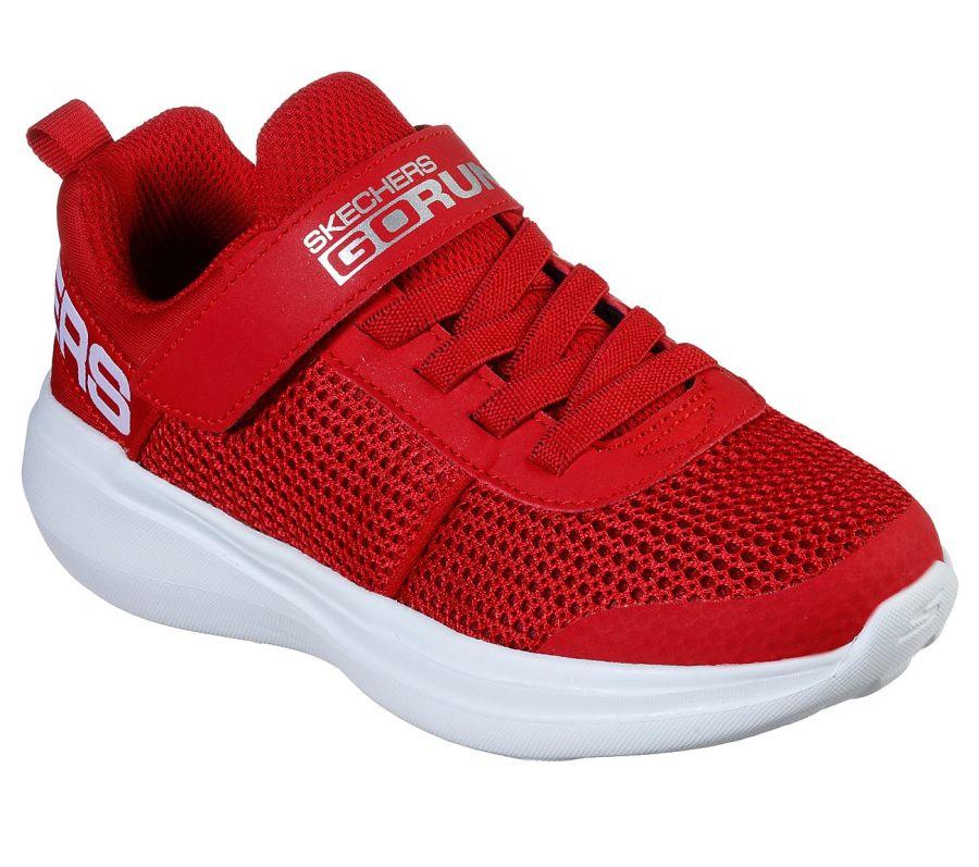 Skecher Go Run Tharo Red Trainers