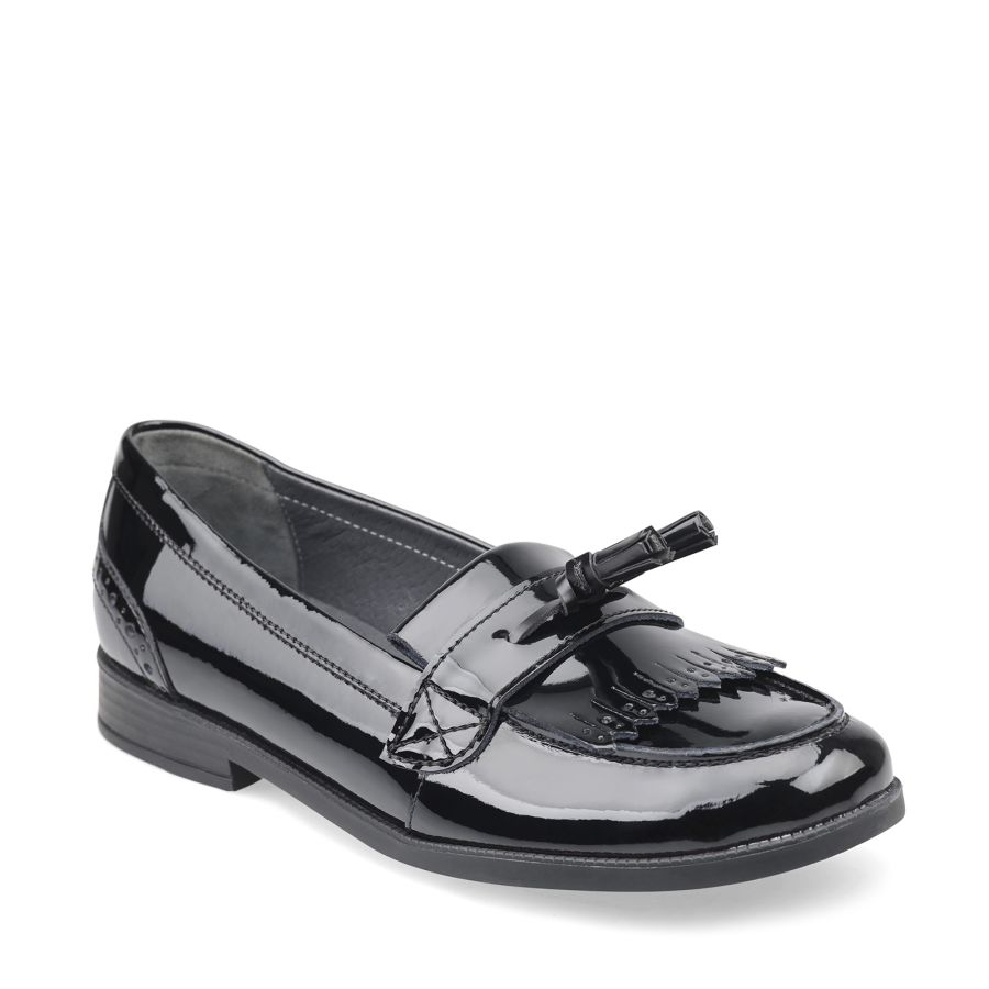 Sketch Black Patent Slip-on