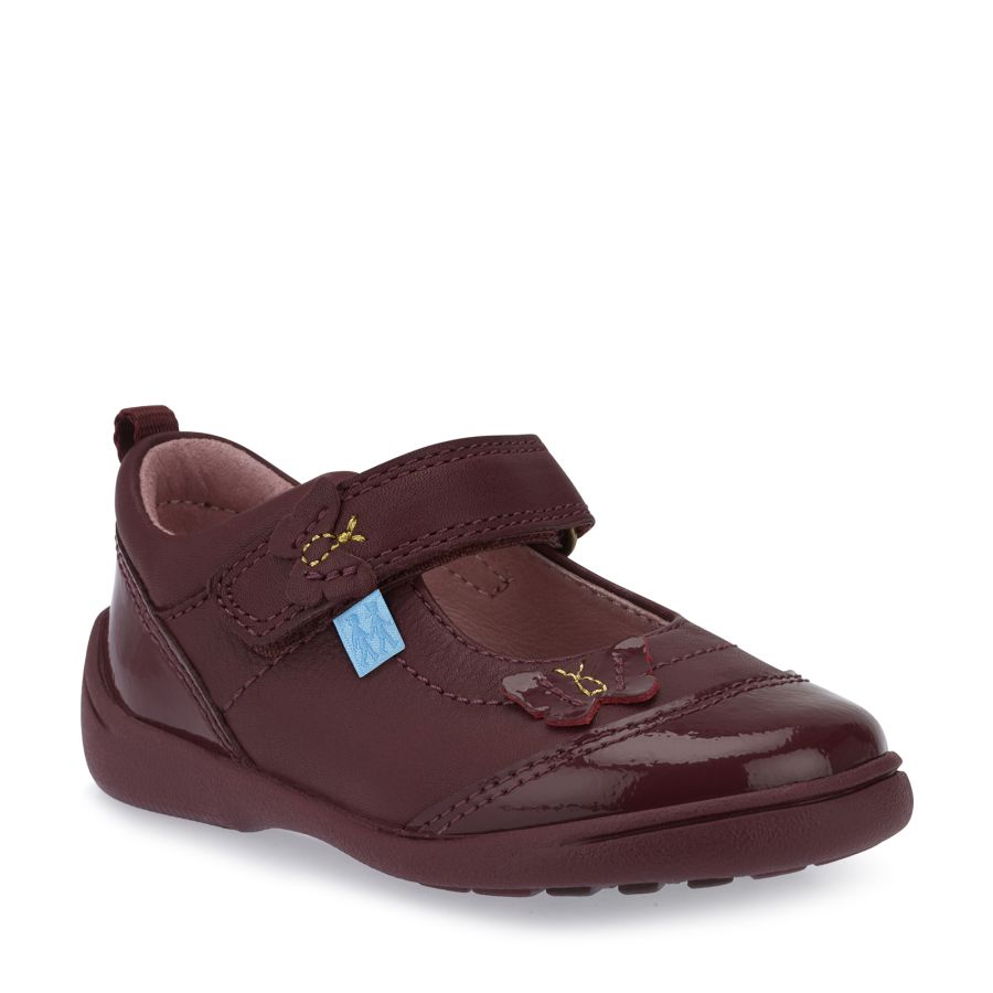 Swing Wine Leather/Patent Shoes