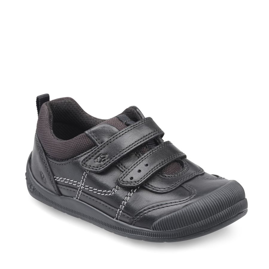 Tickle Black Leather