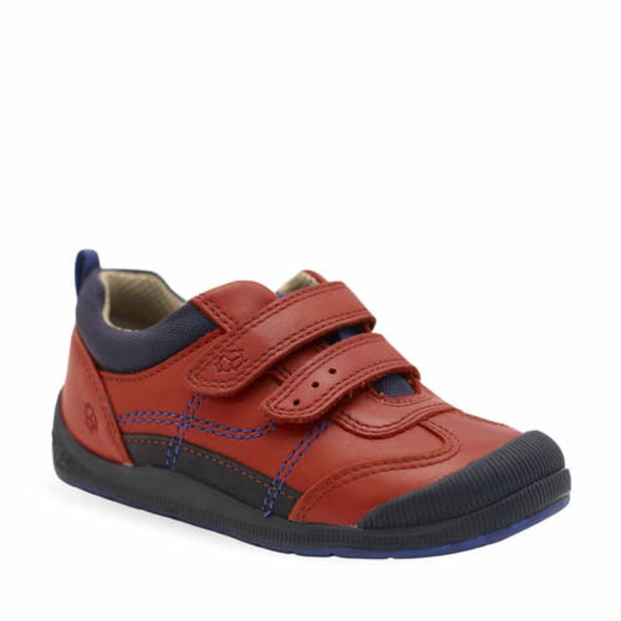 Tickle Red Leather Shoe
