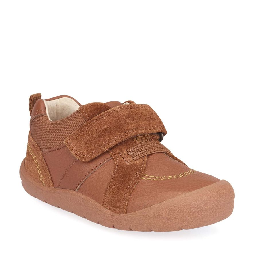 Twist Tan Leather/Suede Shoes