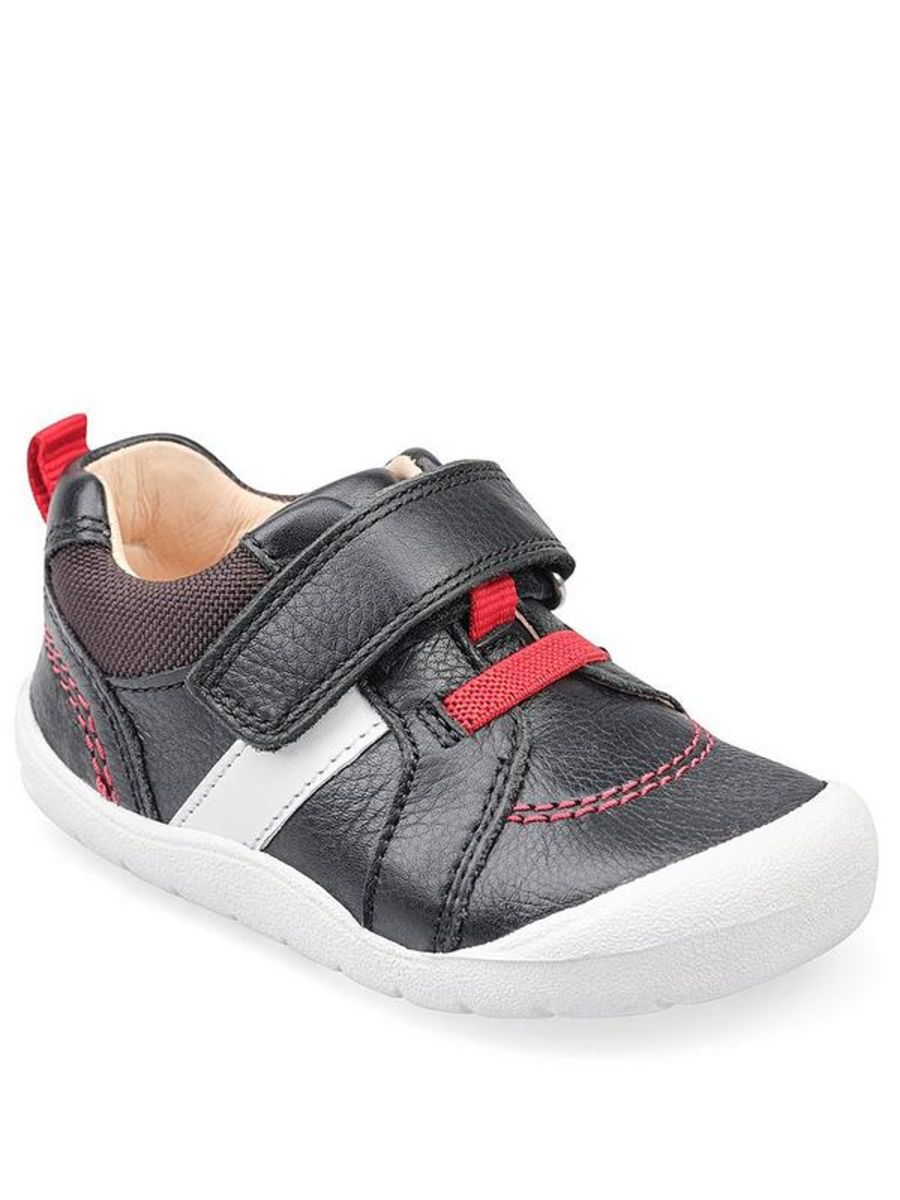 Twist Black Leather Shoes