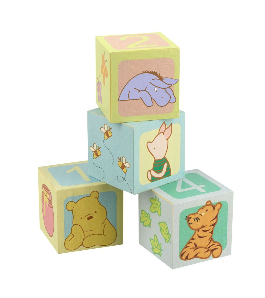 Winnie the Pooh Counting Blocks
