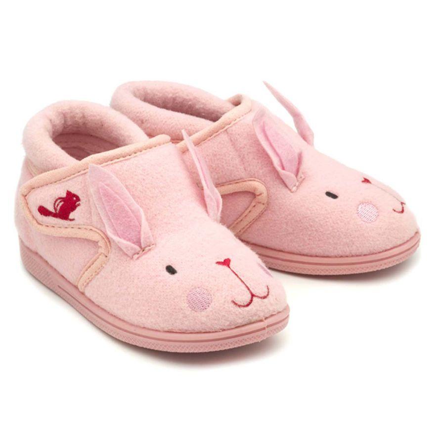 Katie Pink Bunny Slippers
