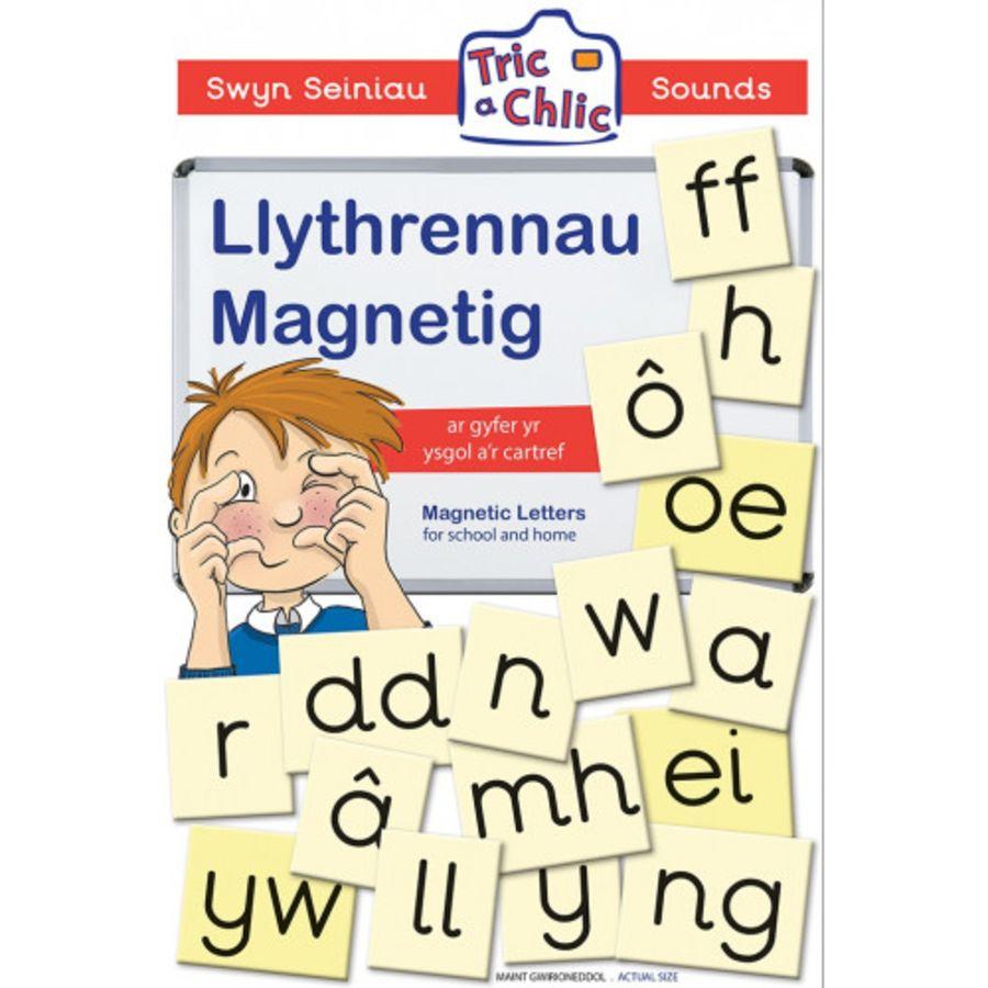 Llythrennau Magnetig/Magnetic Letter