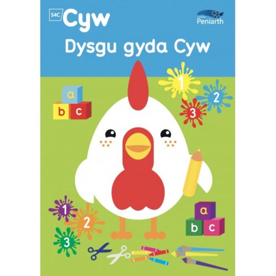 Llyfr Dysgu Gyda Cyw/ Learning with Cyw