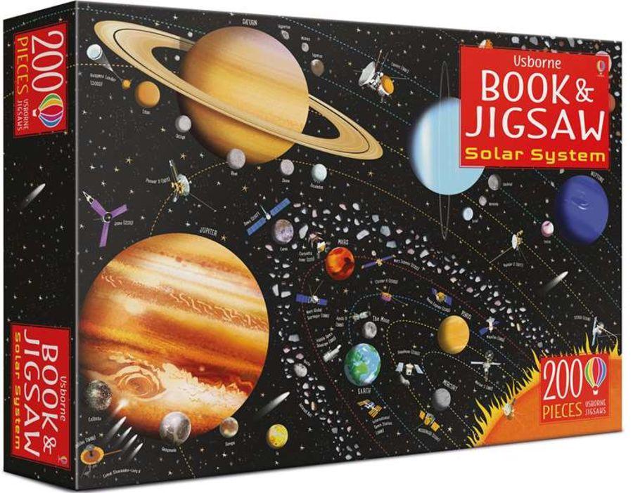 Solar System Jigsaw
