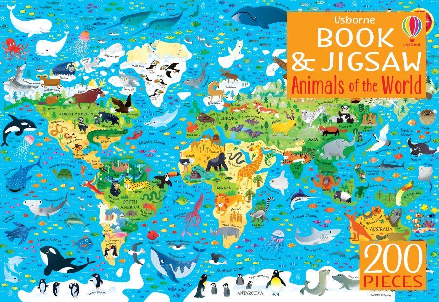 Animals of the World Jigsaw