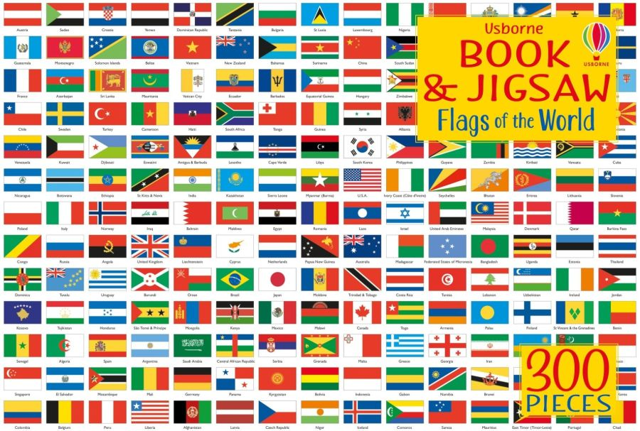 Flags of the World Jigsaw
