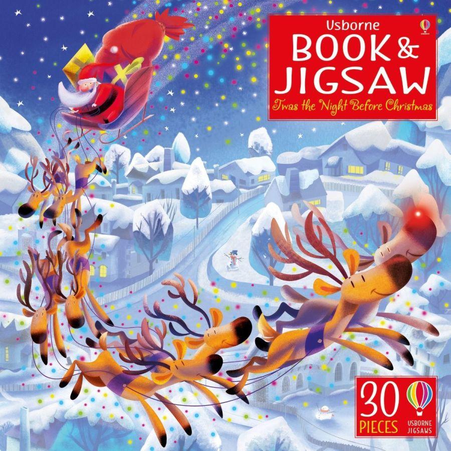 'Twas the Night Before Christmas Jigsaw