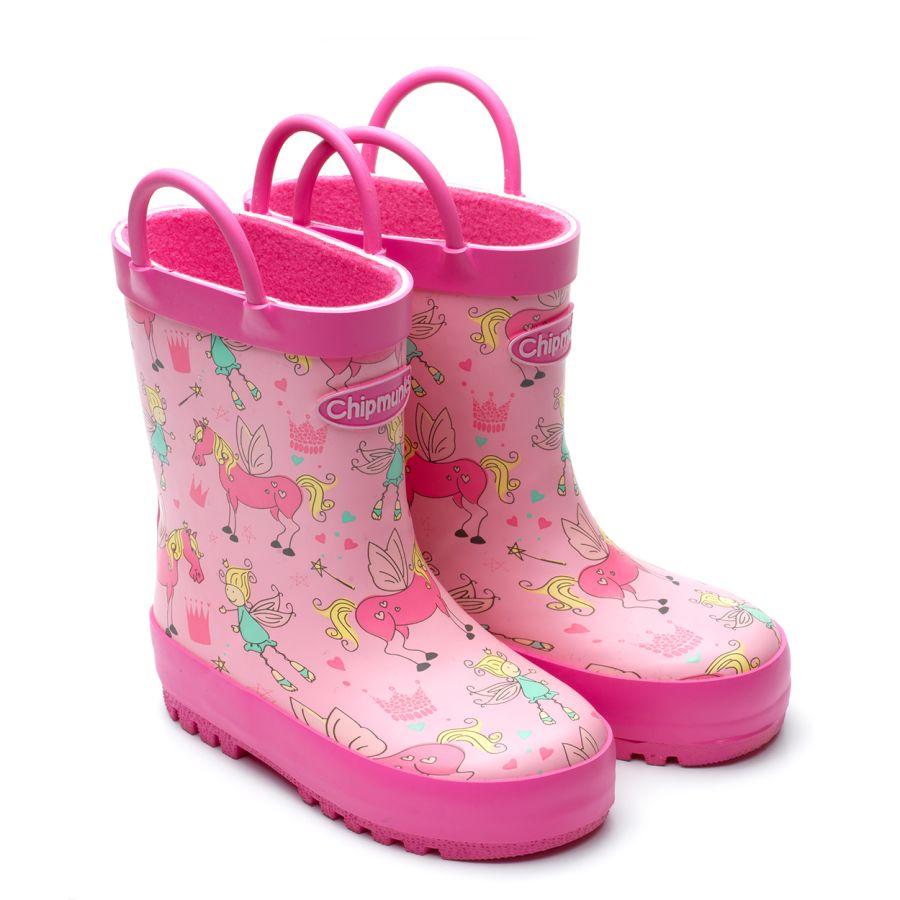 Princess Pink Wellies