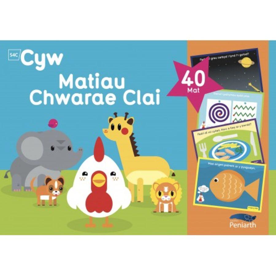 Matiau Clai Cyw