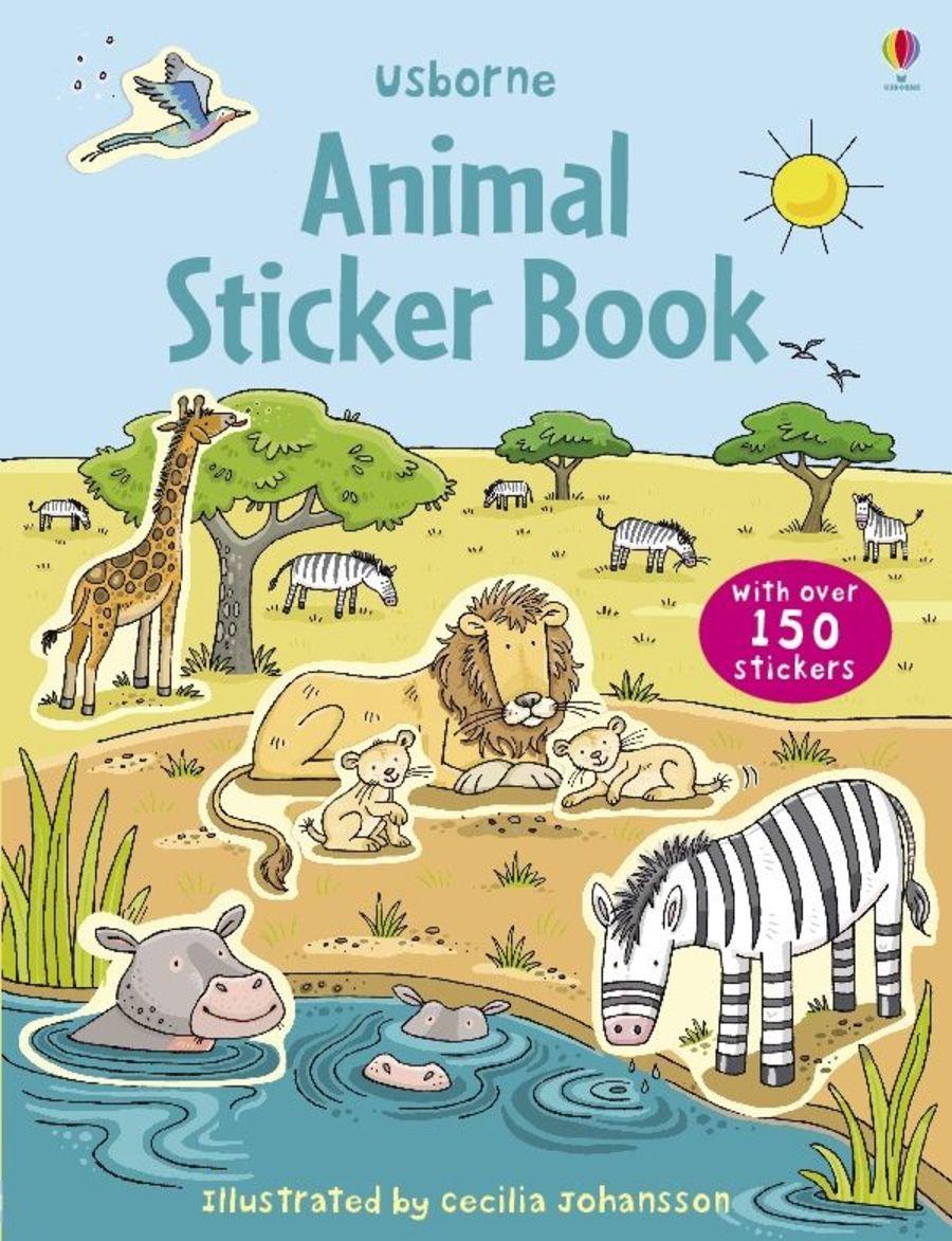 First Sticker Book Animals