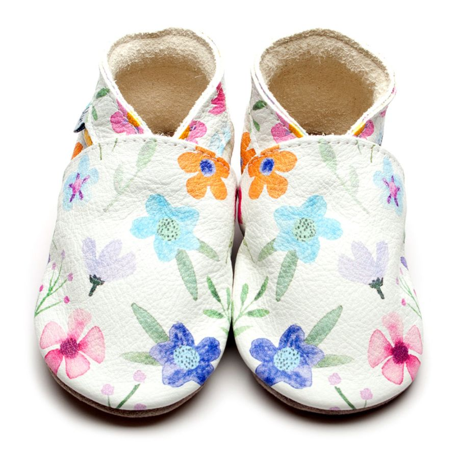Posy Leather Shoe Slippers