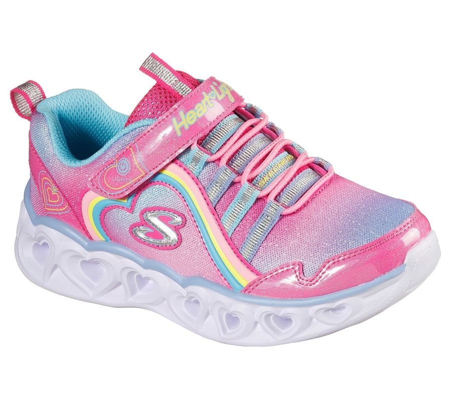 Skechers S Lights Heart Lights - Rainbow Lux