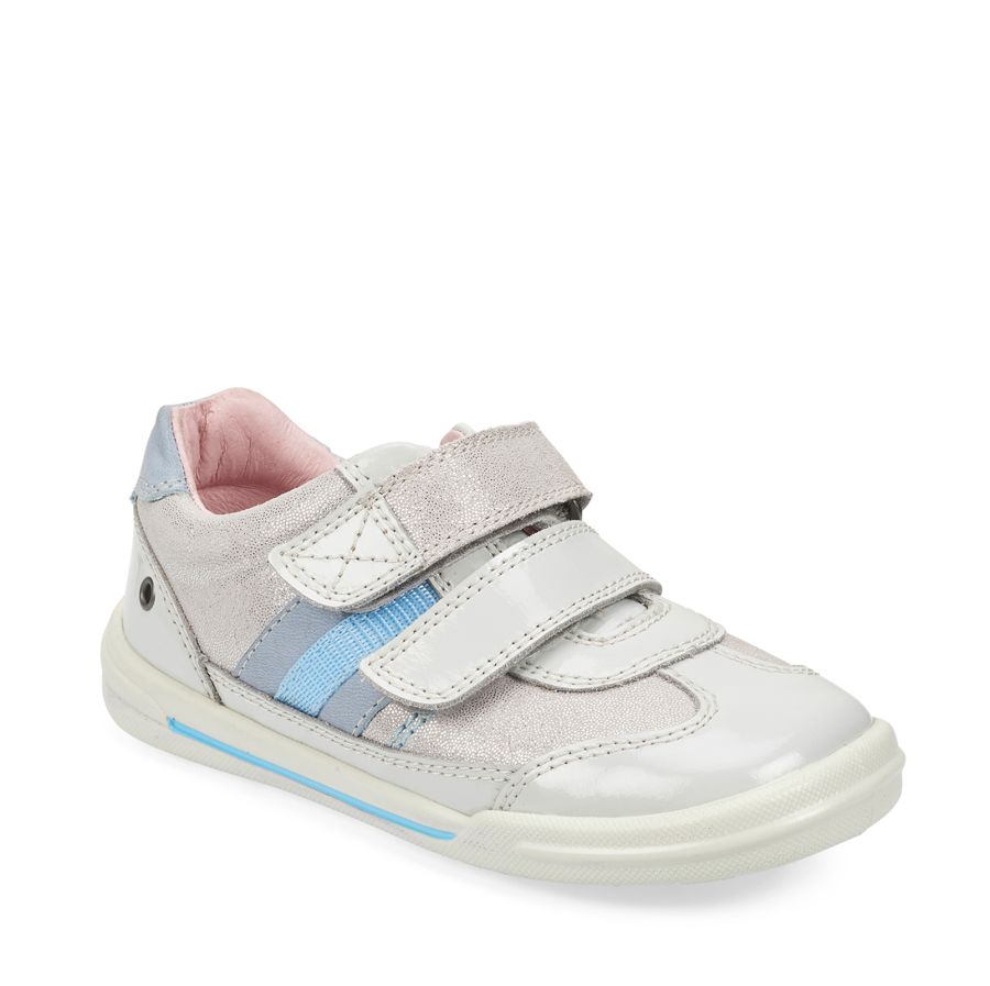 Seesaw Silver Metallic Leather Shoe