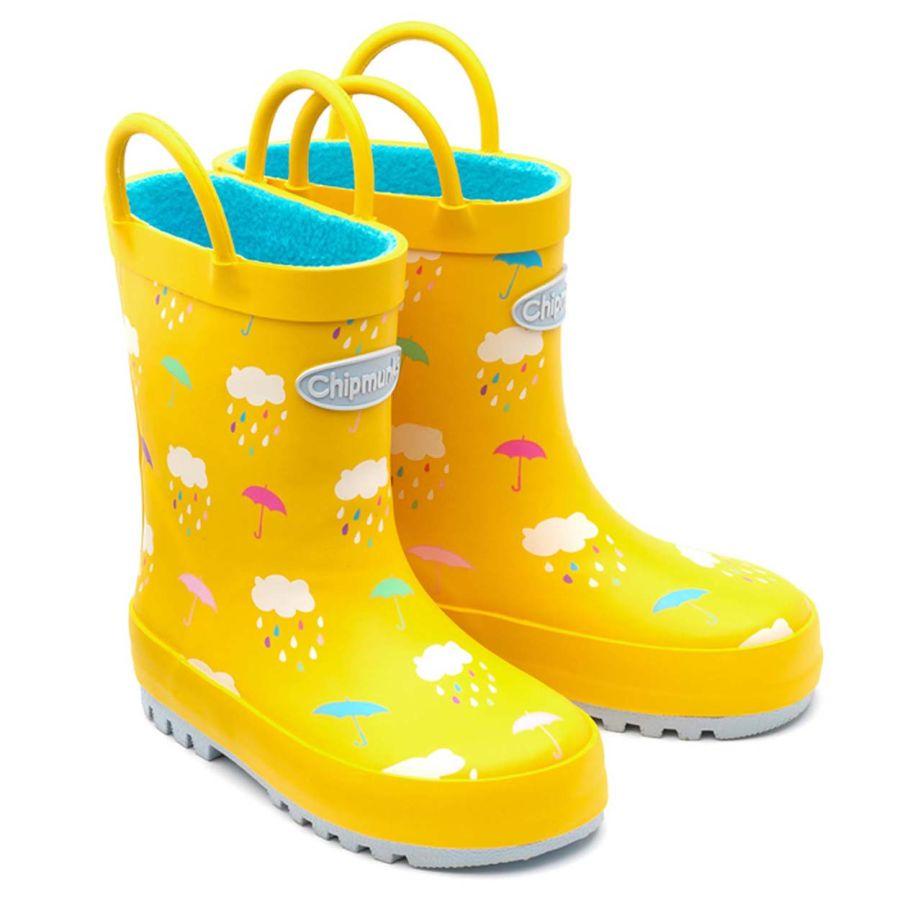 Rain Yellow Wellies